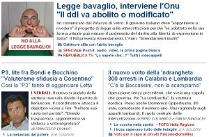 La Repubblica 13 luglio 2010